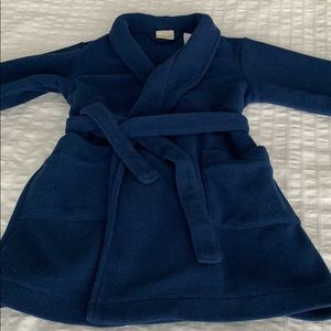 LL.Bean Fleece Robe Sz 2T